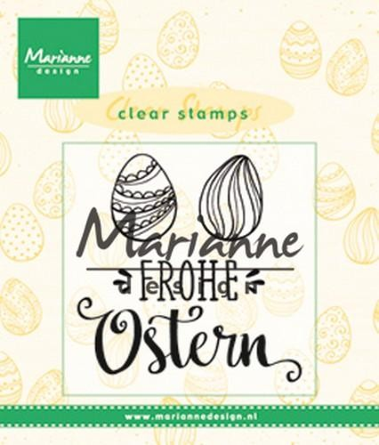 Clearstamps Frohe Ostern