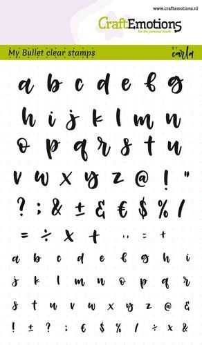 Clearstamps Alphabet