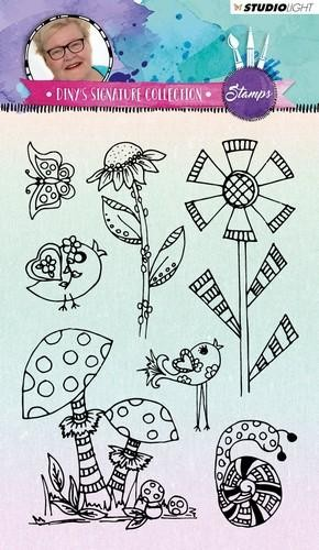 Clear Stamps Wiese