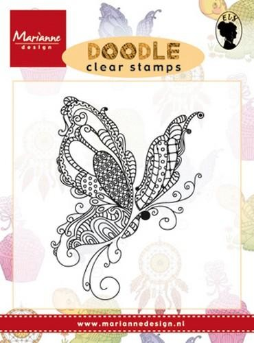 Clearstamp Schmetterling