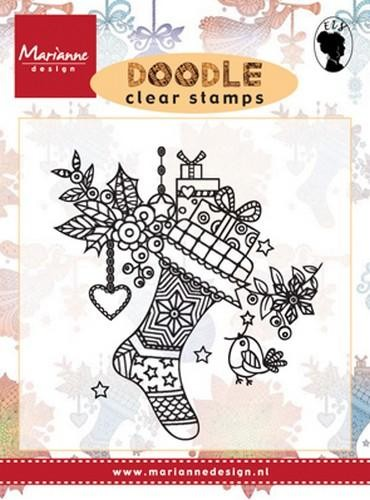 Clearstamps von Marianne D.in verschiedenen Designs Stocking