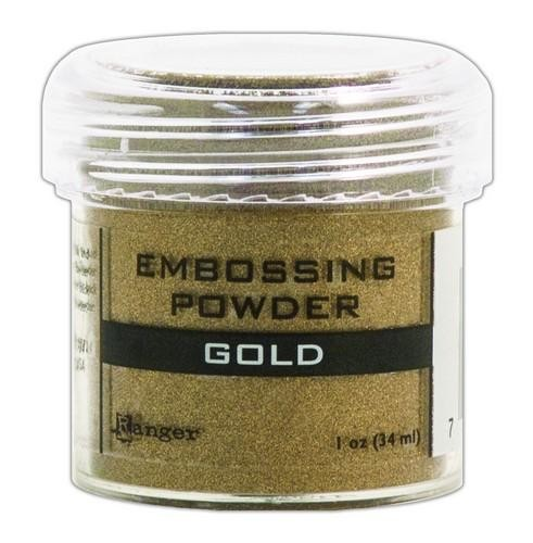 Embossing Pulver Gold