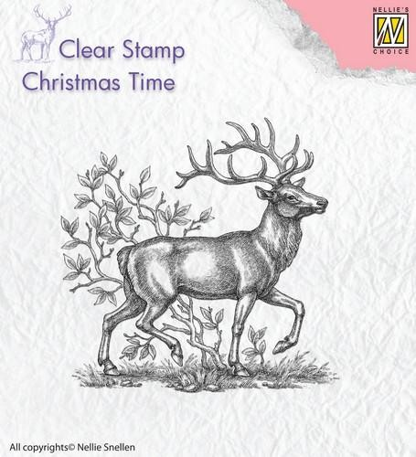 Clearstamps von Nellie´s Choice in verschiedenen Designs Hirsch