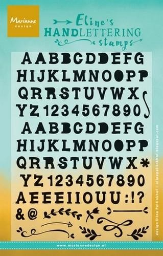 Clearstamp Handlettering ABC